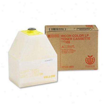 Ricoh Corp Yellow Toner Type 105