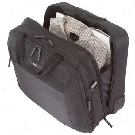 "Rolling Travel 17"" Laptop Case - Black Tcg717"