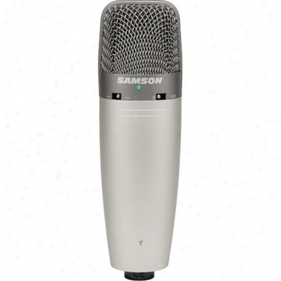 Samson Audio C03upak Co3u Microphone With Podcast Pak