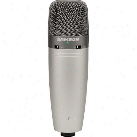Samson Audio Open Box C03ucw Condenser Microphone Wih Cakewalk Software