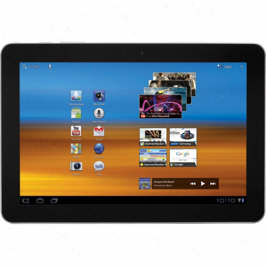 "Samsung Galaxy Tab 10.1"" Pls Touchscreen 32gb Android Tablet - Dark Gray"