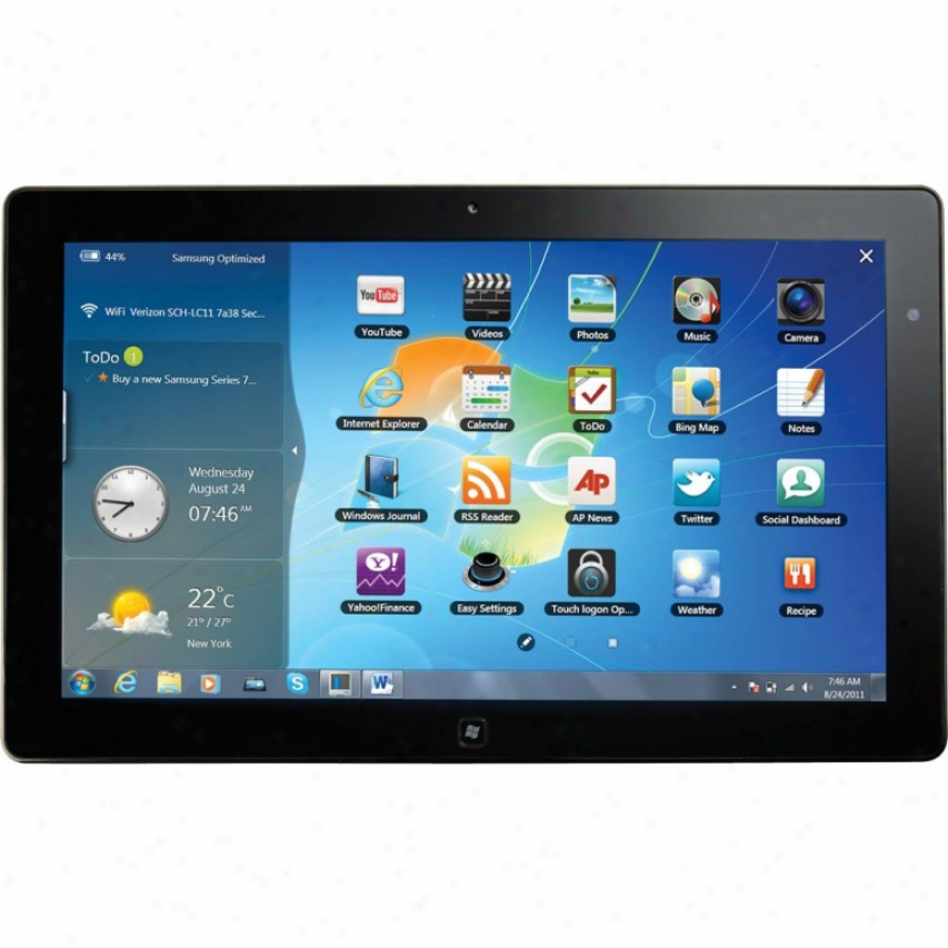 "Samsung Xe700t1a-a01us Series 7 Slate 11.6"" Tablet Pc - Black"