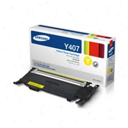Samsung Yellow Toner 1k Yield