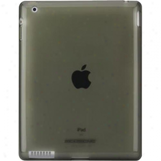 Scosche Flexible Rubber Case For Ipad 2 Ipd2tpubk - Smoke Black