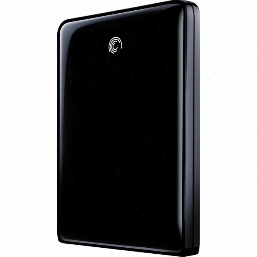 Seagate 320gb Freeagent Goflex Usb 2.0 Extreme Portable Hard Drive - Black
