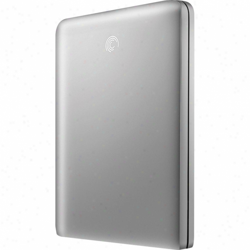 Seagate 500gb Freeagent Goflex Usb 2.0 Ultraist Portable Hard Drive - Silver
