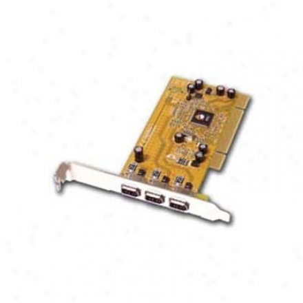 Siig Inc 3 Larboard Firewire Adapter Card
