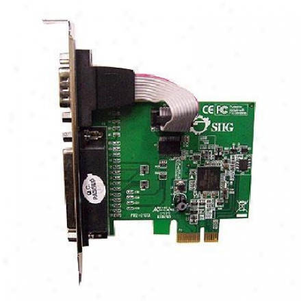 Siig Inc Cyber Serial/parallel Combo Pcie Adapter