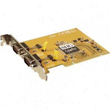 Siig Inc Cyberserial Dual Pci Adapter Rohs Yielding 10 Pack Jj-p02012-b6