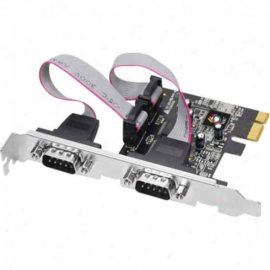 Siig Inc Dual Pcie 2-port Rs232