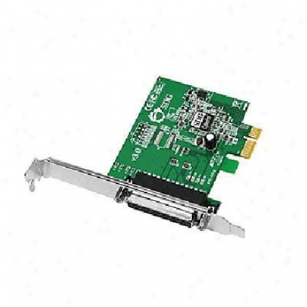 Siig Inc Dual Profile Ecp-epp 1Harbor Parallel Pcie Adapter Jj-e01011-s3