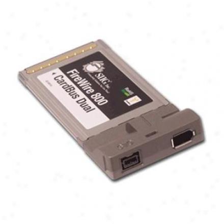Siig Inc Firewire 800 Cardbus Dual Rohs