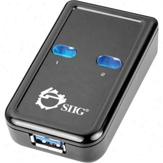 Siig Inc Usb 3.0 Switch 2-to-1