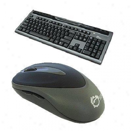 Siig Inc W/less Multimedia Keyb.w/mouse