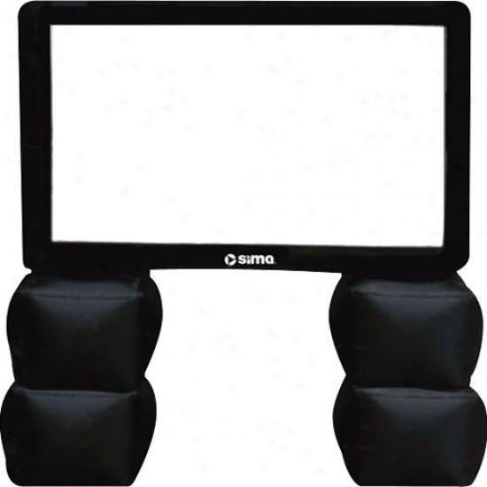 Sima Mgm 6 Ft. Inflatable Screen