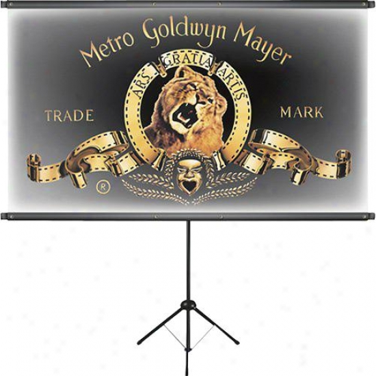 "Sima Mgm 83"" Portable Hd Projectionscreen Mgm-83ps"