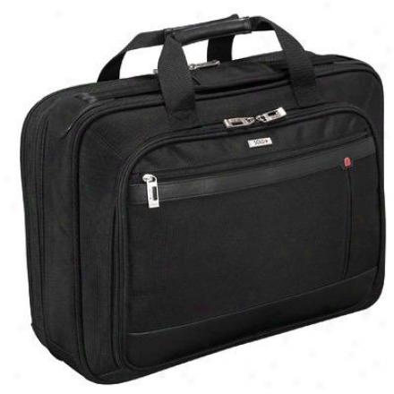 "Smart Strap 15.4"" Laptop Portfolio - Black Pt4344"