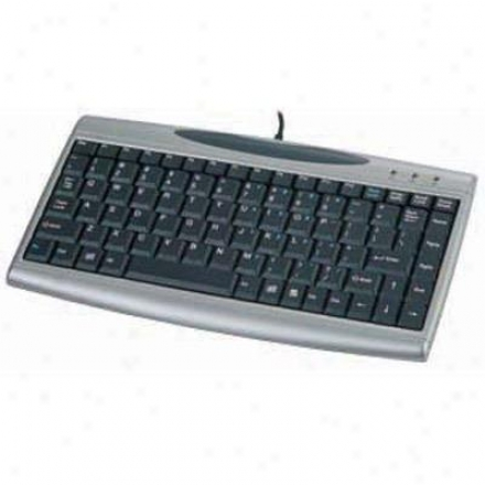 Solidtek 88/89 Keys Keyboard W/2 Usb