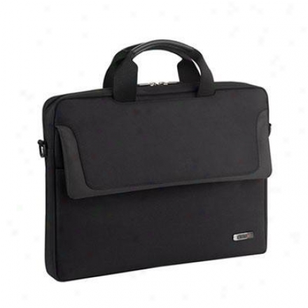 "Solo 14.1"" Laptop Slimbrief - Black Cla112-4"