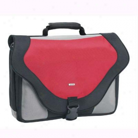 "Solo 17"" Laptop Messenger Bag - Red Pt920-12"