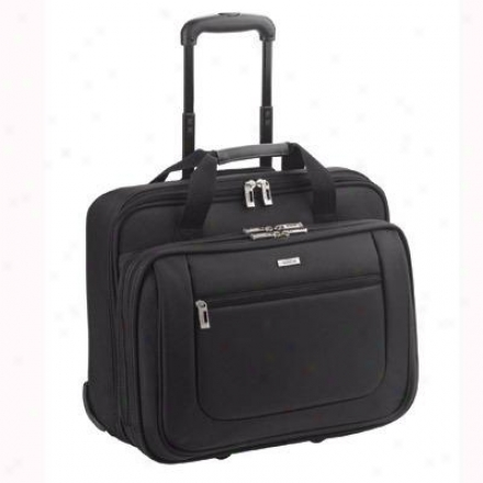 "Solo 17"" Rolling Laptop Case - Black Pt136-4"