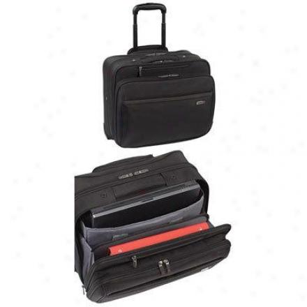 Solo Cneckfast Rolling Laptop Case - Black Cla902-4