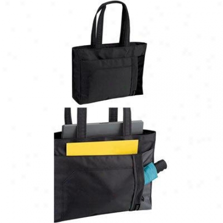Solo Laptop Nylon Tote -black Pla801-4