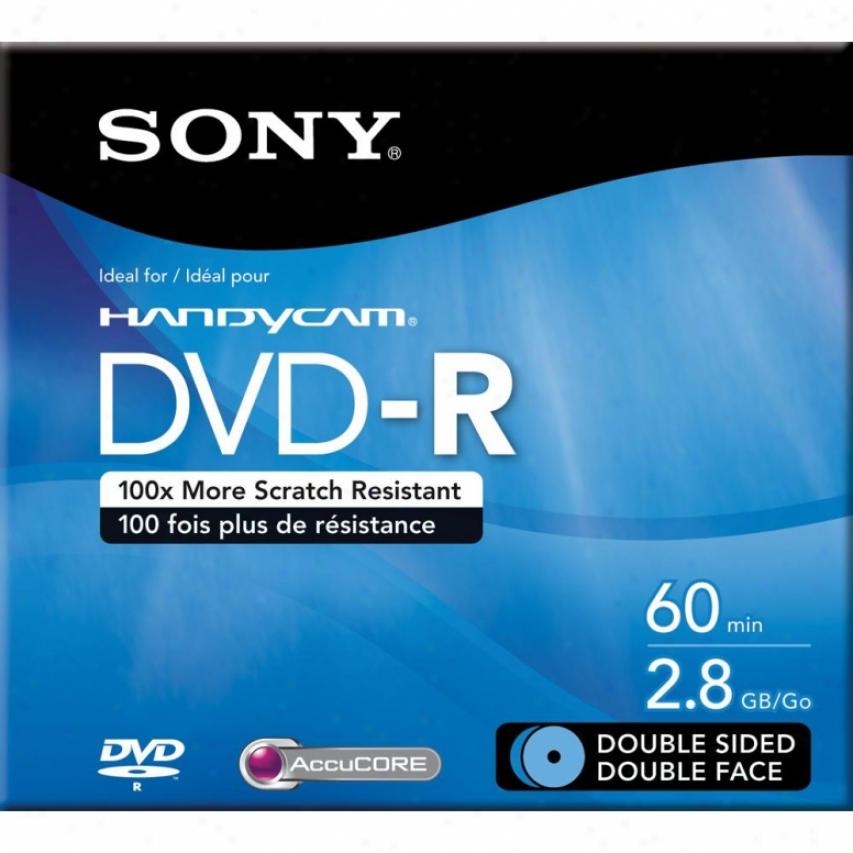 Sony Dmr60dsr1h Storage Media Dvd-r (8cm) 2.8gb