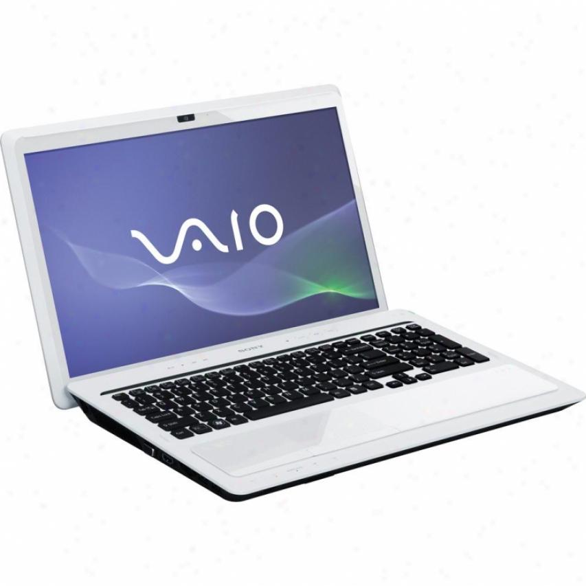 "Sony Open Box Vaio® Vpcf22sfx/w Signature Series 16.4"" Notebook Pc - White"