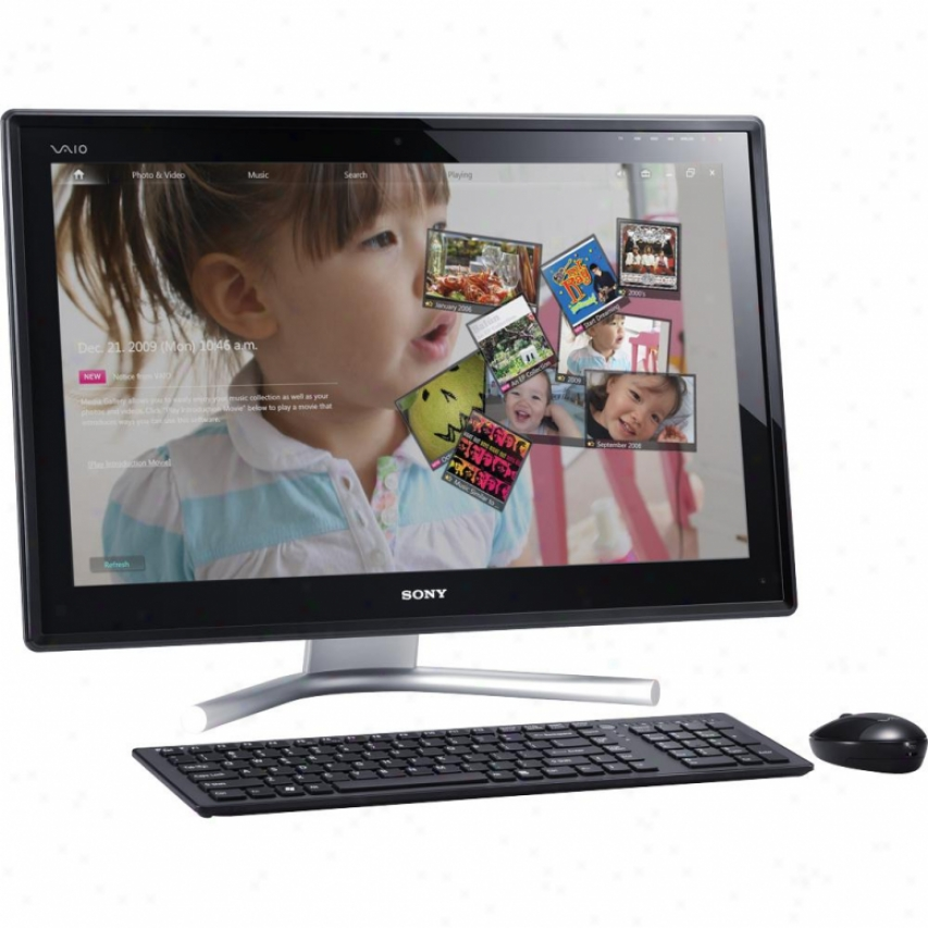 "Sony Part Box Vaio® Vpcl216fx/b L2 Series 24"" Touchscreen lAl-in-one Desktop"