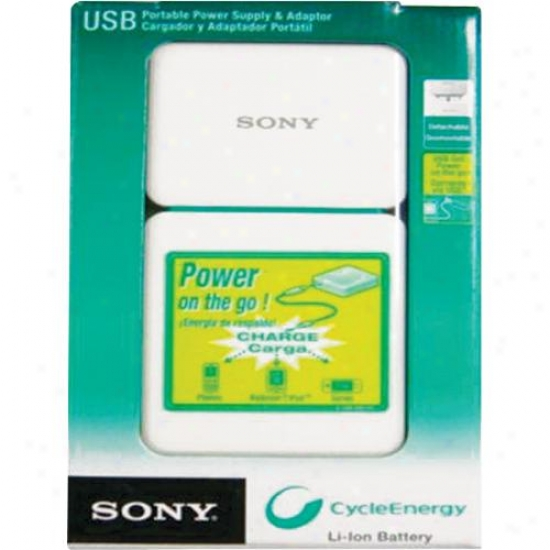 Sony Portablle Usb Charger Wit h1120mah Li-ion Battery Cpal