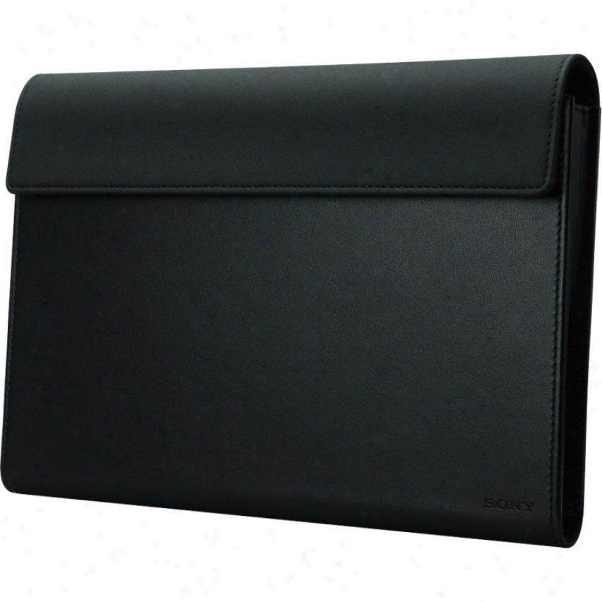 Sony Tablet S Leather Carrying Case Sgp-ck1 - Black