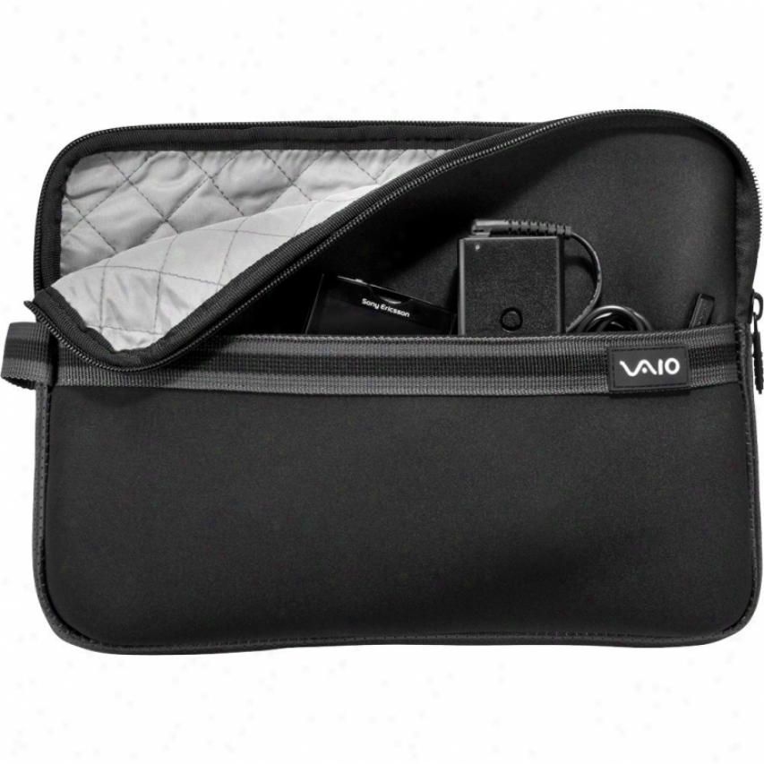 "Sony Vaio Neoprene 11"" Laptop Sleeve - Black Vgpamn1c11/b"