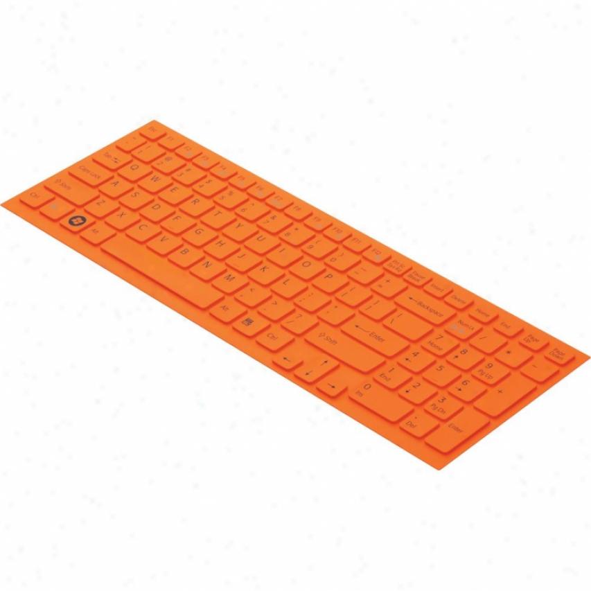 Sony Vaio® Laptop Keyboard Skin - Orange - Vgp-kbv3/d