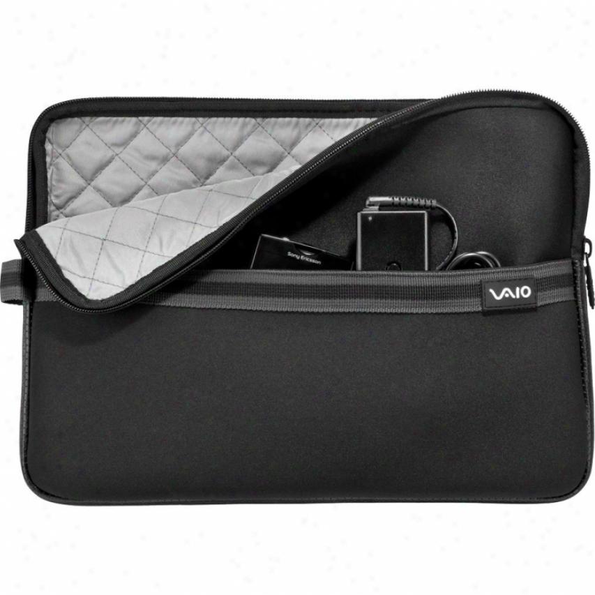 "Sony Vzio® Neoprene 13"" Notsbook Sleeve - Black - Vgpamn1c13/b"