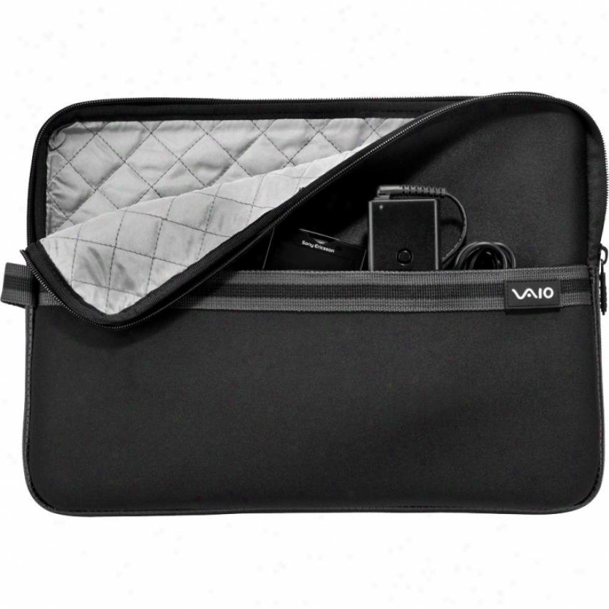 "Sony Vaio® Neoprene 14"" Notebook Slesve - Black - Vgpamn1c14/b"