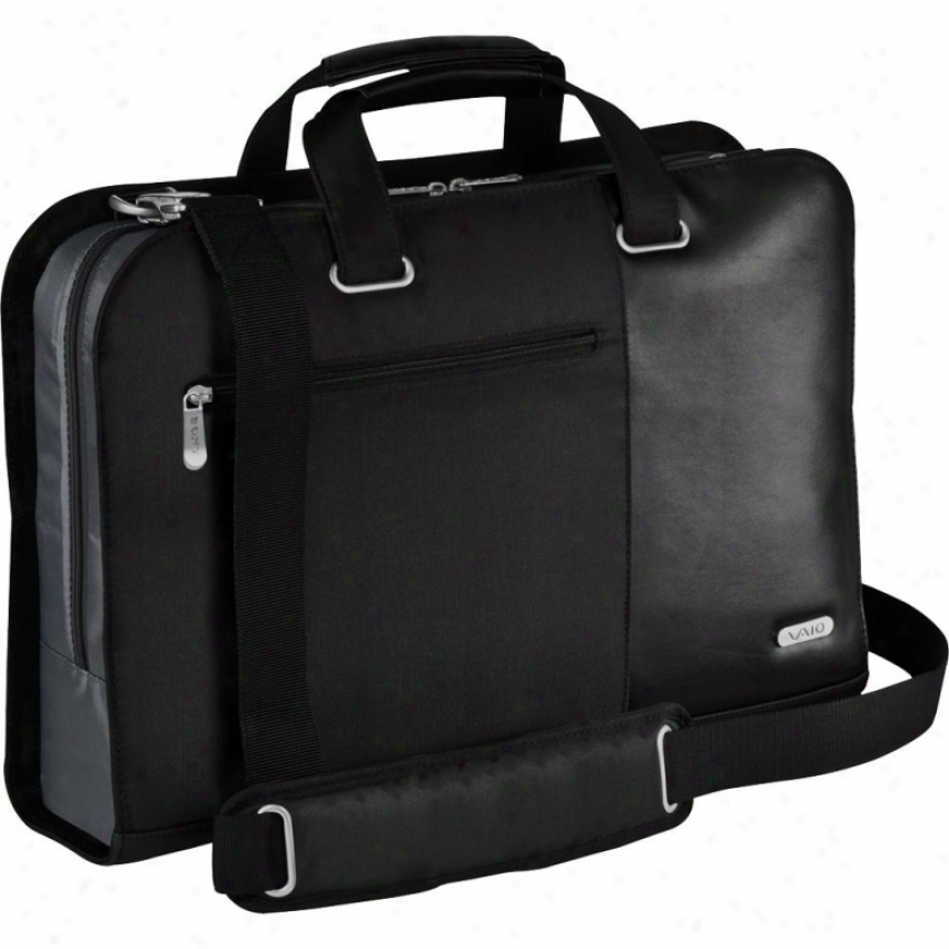 "Sony Vaio® Professional Topload 15"" Notebook Case - Black Vgpamt1b15/b"