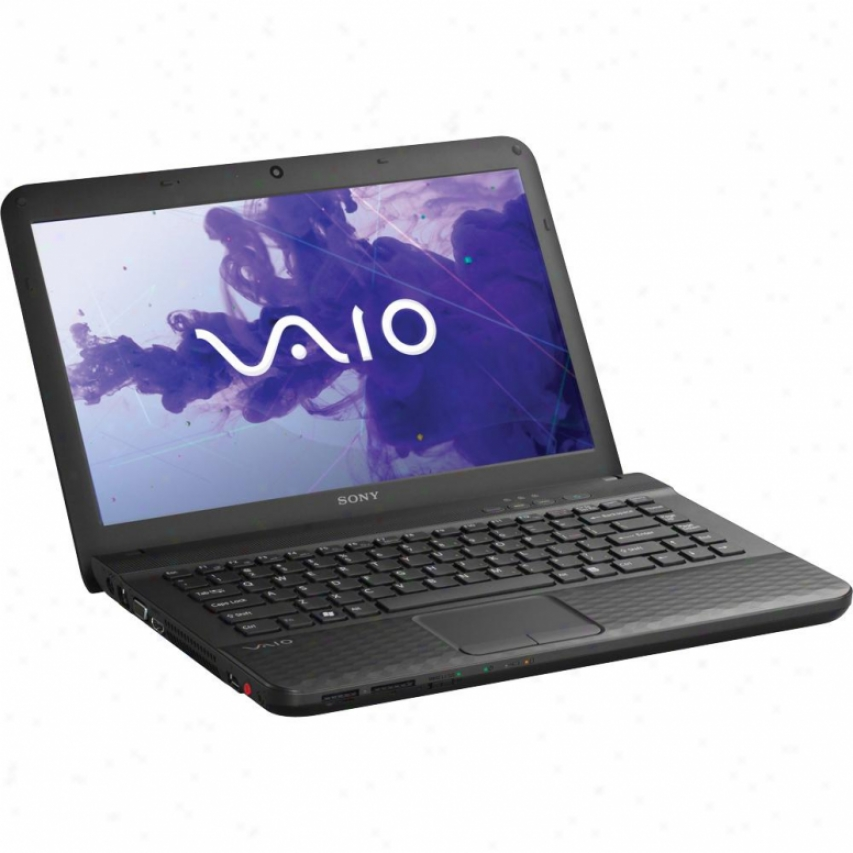 "Sony Vaio® Vpceg36fx/b 14"" Notebook Pc - Charcoal Black"