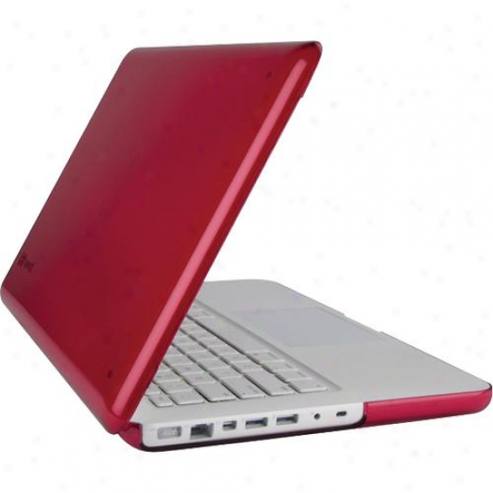 "Bit Products 13"" Macbook See Thru Raspberry"