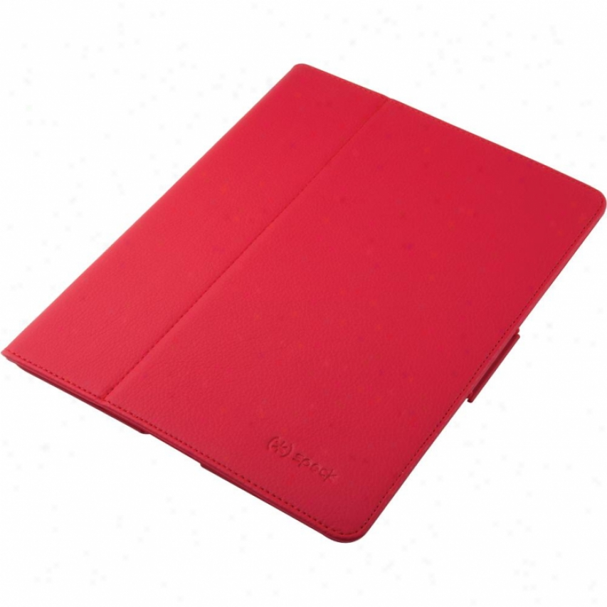 Speck Products Fitfolio Case Fot Ipad 2 Spk-a0322 - Red Vegan Leather