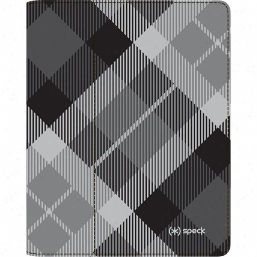 Speck Products Fitfolio For New Ipad 3 - Megaplaid Black Spka1190