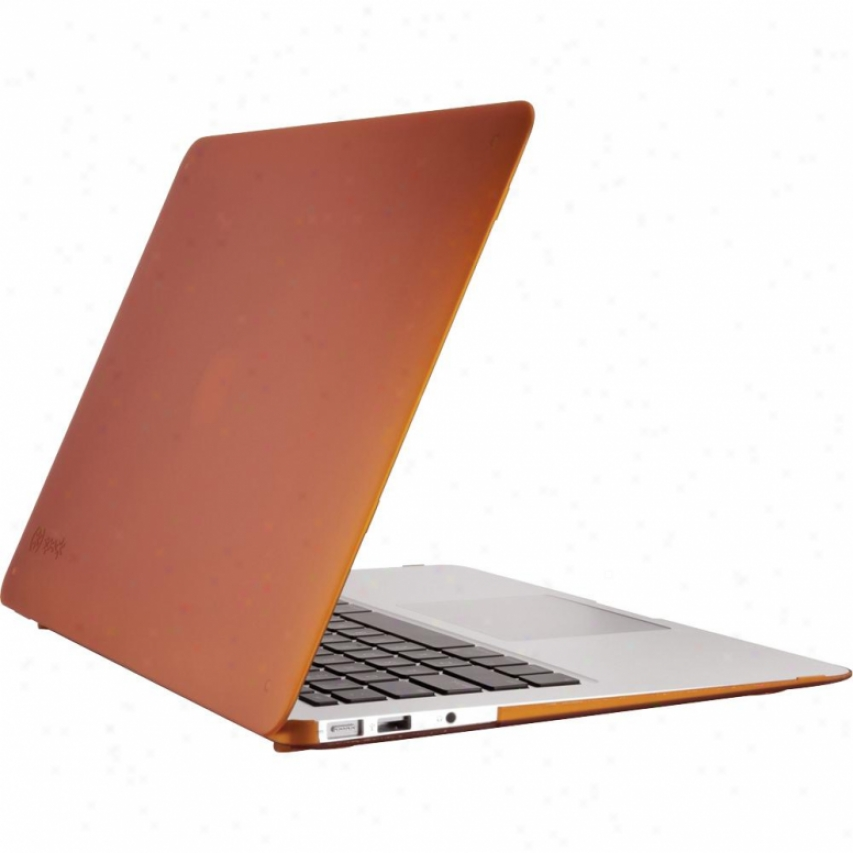 """Speck Products Mba13a0555 Sesthru Satin Cover For 13"""" Macbook Appearance - Terracootta"""