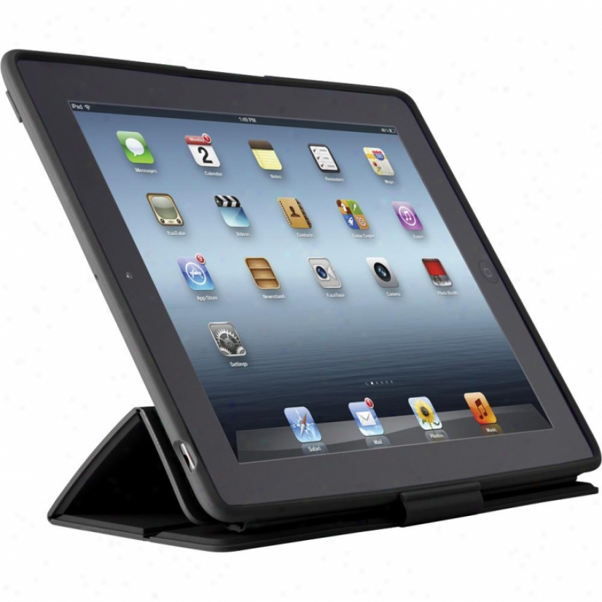 Speck Products Pixelskin Hd Wrap Case For The New Ipad 3 Blaci Spka1193