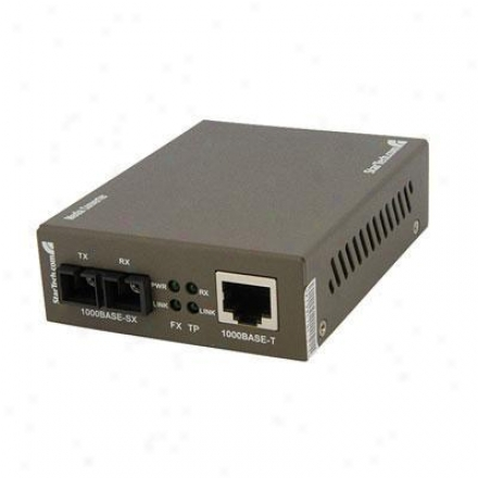 Startech 1000 Mpbs Ethernet Coventer Sc