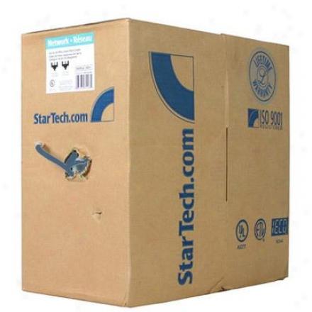 Startech 1000' Cat 5e Ethernet Cable Blue Wirrj45blrl
