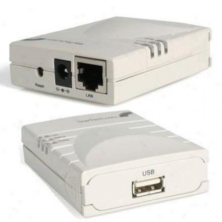Startech 10/100 Mbps Usb Print Server