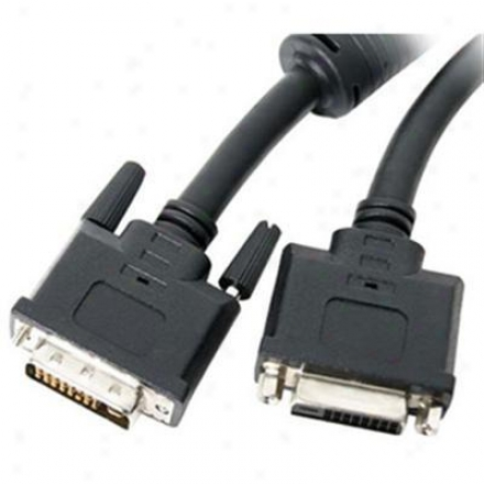 Startech 15' Dvi 24-pin M/f Ext Cable