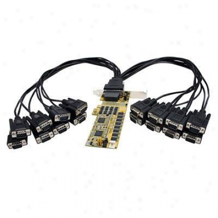 Startech 16-port Low Profile Pci Expres