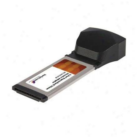 Startech 2 Port 1b/1a Expresscard