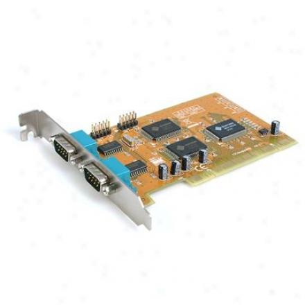 Startech 2-port Dual Volt Serial Card